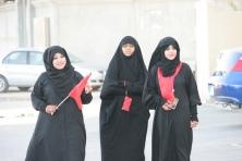 Sunni Muslims protesting in Bahrain by Al Jazeera via Flickr.com